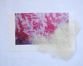 Pink Paper Felt
