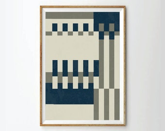 Geometric Art, Mid century art, Mid Century Poster,  Retro Poster, Geometric, Abstract Prints Posters, Geometric Posters