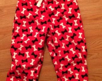 Red Bone Pajama Pants