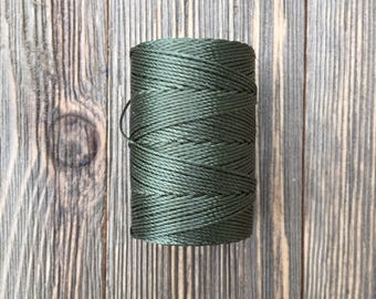C-Lon Cord .5mm - Dark Green