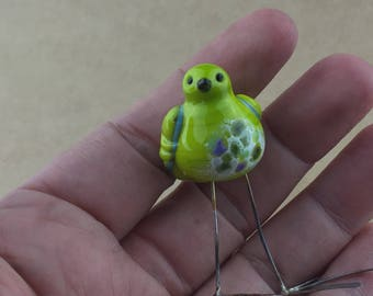 Little green bird  -  twitter feed