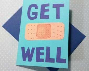 Get Well (Clover + Blueberry + Turquoise) // Cards For Encouragement