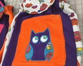 BIG KID Sized Backpack -- custom order Kia