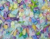 Destash Glass Frit Blend Pink Teal Yellow Violet Dragonfly Glassworx Dancing Dreamer COE 94-96 0.1oz Bag