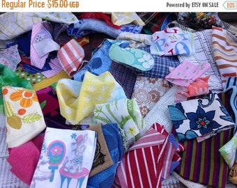 40% OFF- Get Your Fix- Reclaimed Scrap Bundle-Flat Rate Box-