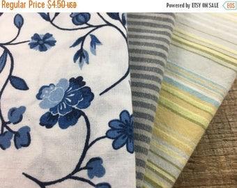 40% OFF- Fat Quarter Bundle-Reclaimed Bed Linens-Country Garden