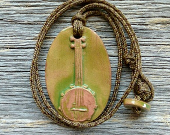 Maggie's Farm Musical Inspiration Collection Banjo Necklace