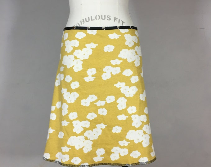 Organic Sunny Blossom Snap Around Skirt by Erin MacLeod