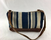 SALE Emma Crossbody Bag in African Dogon Cloth