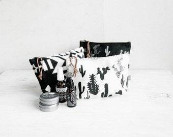 Inverse Cactus Cosmetic Bag