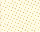 Coney Island - Dandelion Wisps in Ice Cream: sku 20283-16 cotton quilting fabric by Fig Tree and Co. for Moda Fabrics - 1 yard