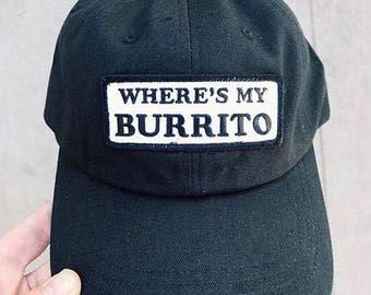 Wheres My Burrito Dad Hat