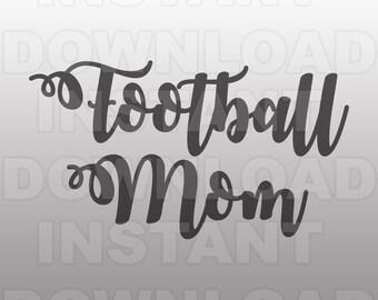 Football Mom Script Font SVG File