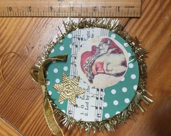 Handcrafted Christmas ornament