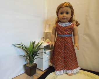 Pretty on the Prairie outfit--Fits 18 Doll LIKE American Girl