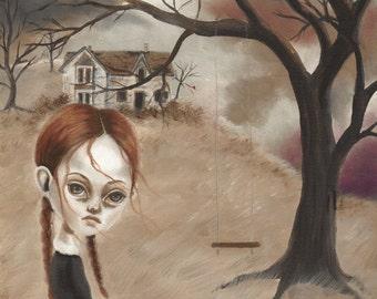Haunted -Print