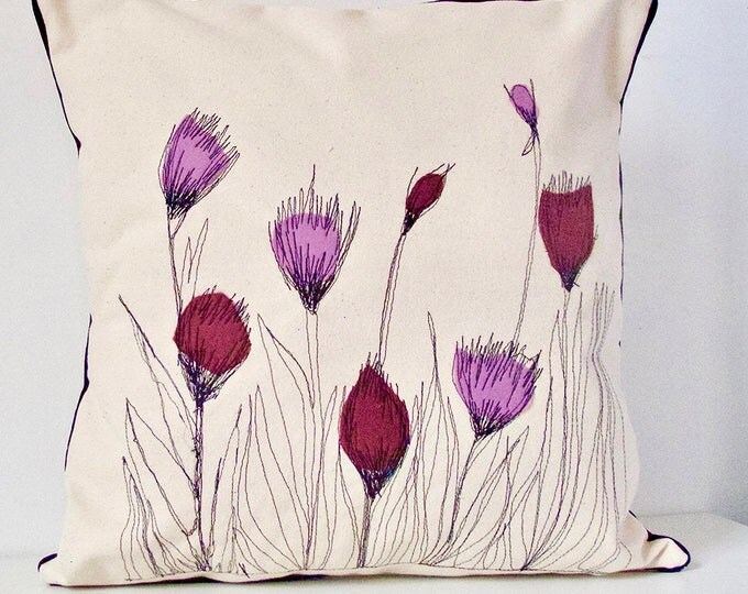 Featured listing image: Thistle Pillow