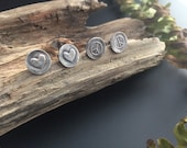 Reserved Listing -  Love and Peace Earrings 2 pairs