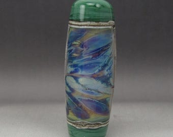 ON SALE Handmade Lampwork Glass Focal Bead by Jason Powers SRA