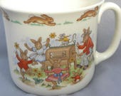 Vintage Royal Dalton Bunnykins Child's Cup in Bone China made in England