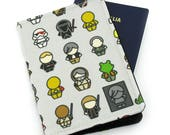 Star Wars Characters Passport Holder, Passport Cover, Passport Wallet, Passport Case, Travel Gift, Boys Passport, Boyfriend Gift