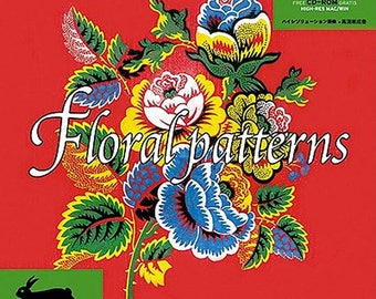 Floral Patterns [With Cdrom] (Agile Rabbit Editions)