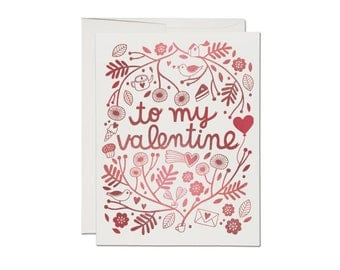 Treats For Valentine - Greeting Card