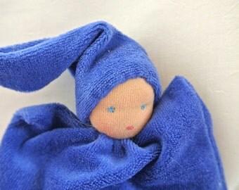 Waldorf doll, pillow doll 8inch\ 20cm, for babies and kids, בובת וולדורף לקטנטנים
