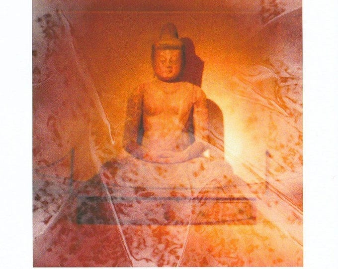 Beautiful Buddha frameable large card