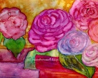 ROSE  DORE  -  Mixed Media Artwork