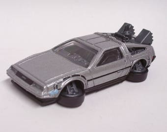 Back to the Future - Time Machine DeLorean - Hover Mode : Hot Rod, Man Cave, Refrigerator, Tool Box, Magnet