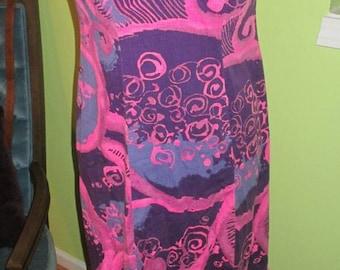 Vintage Ludy for Ludi's Honolulu Flirty Hawaii Dress