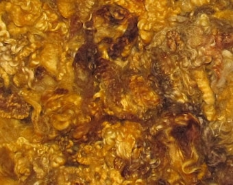 Border Leicester fleece,Lamb and Yearling 1 ounce, Caramel Corn  42