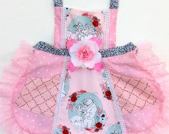 Beauty and the Beast Apron, toddler apron, princess apron, Belle apron, girls apron, disney apron