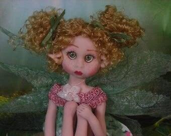 Fairy Fairies Fae pixie elf OOAK Fantasy Art Doll By Lori Schroeder A1