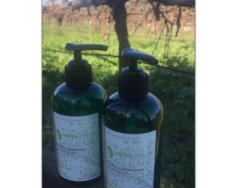 Argan and Hemp Organic Hair Care