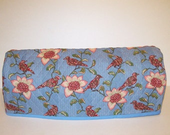 Cricut Expression ONLY! Dust Cover / Cricut Machine Cutter Protector / Birds with Flowers on Blue
