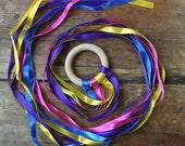 Exta Long Wooden Dancing Kite Ribbons