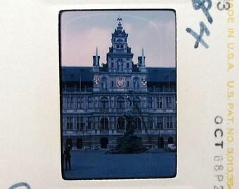 36 Vintage 35mm Slides - England - Belgium - Netherlands - 1960s Travel - Photo Slide Set - The Hague - Wales