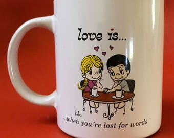 Love Is... When You're Lost For Words Kim Casali Los Angeles Times Mug
