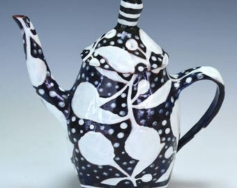 Night and Day Teapot.