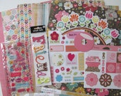 Do-It-Yourself-12x12 Scrapbook Kit #53, Scrapbook Page, Scrapbook Mini Album, Pre-Made Pages, Pre-Made Albums