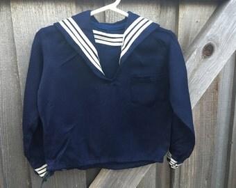 Vintage Sailor Shirt 3/4T