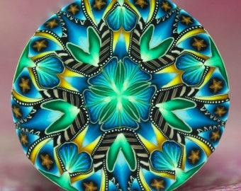 LARGE Polymer Clay Kaleidoscope Cane (16cc)