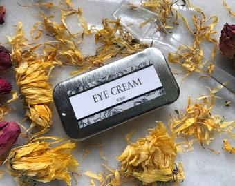 Organic Eye Cream Waterless Formula Lis Noir Skincare