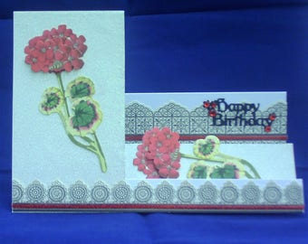 Birthday Card featuring a Side Stepper design