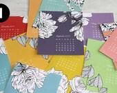 2017 Desk Calendar Cards – NO EASEL – Choose Your Design