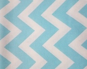 Custom for shaybugg0323 Roll Up Baby Changing Pad Mat With Aqua/White Chevron and Grey Dot Minky - Made To Order