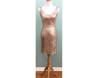 V-neck Side Wrap Flounce Dress - Erin