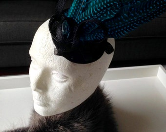 "Fascinator-""Lady Tatiana"""